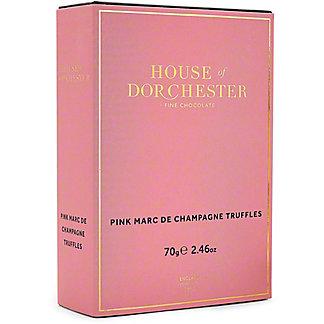 House Of Dorchester Pink Marc De Champagne Truffles, 2.46 oz