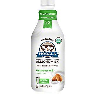 Mooala Organic Unsweetened Almond Milk, 48 fl oz