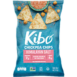 Kibo Himalayan Salt Chickpea Chips, 4 oz