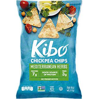 Kibo Mediterranean Herb Chickpea Chips, 4 oz