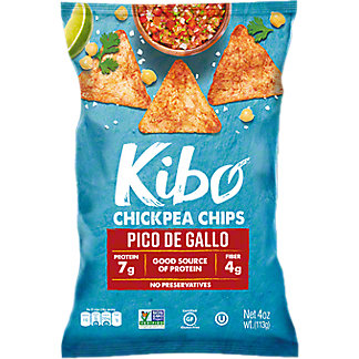 Kibo Pico De Gallo Chickpea Chips, 4 oz