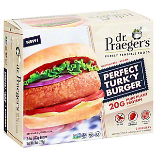Dr. Praeger's Perfect Turk'y Burger, 2 ct