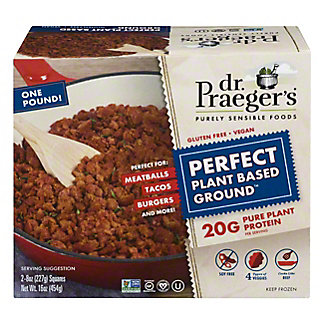 Dr. Praeger's Perfect Plant Based Ground, 2 ct