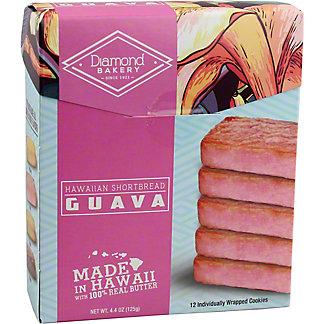 Diamond Bakery Guava Hawaiian Shortbread, 12 ct
