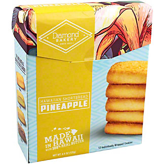 Diamond Bakery Pineapple Hawaiian Shortbread, 4.4 oz