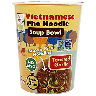 Star Anise Foods Vietnamese Pho Noodle Bowl Toasted Garlic, 1.9 oz