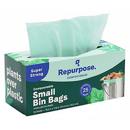 Repurpose Compostable Food Scrap Bags, 25 ct, 3 gal ea