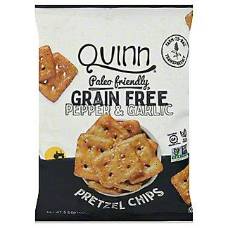 Quinn Grain Free Cracked Black Pepper Pretzel Chips, 5.5 oz