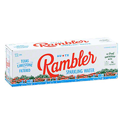 Rambler Sparkling Water, Cans, 12 pk, 12 fl oz ea