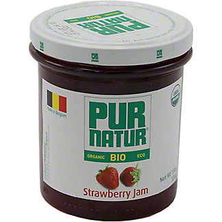 Pur Natur Organic Strawberry Jam, 13 oz