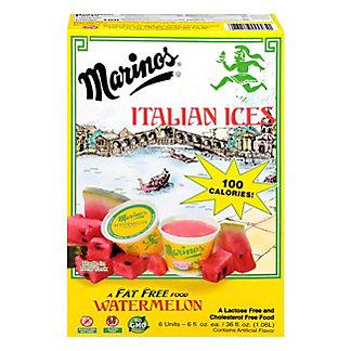 Marino's Italian Ices Watermelon Italian Ice, 6 ct