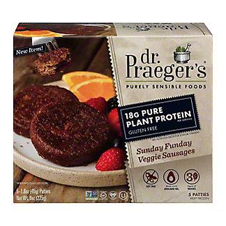 Dr Praeger's Sunday Funday Veggie Sausage, 5 ct
