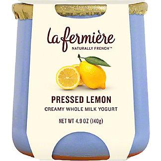 LA FERMIERE Pressed Lemon Yogurt, 4.9 oz