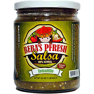 Beba's Pfresh Mild Tomatillo Salsa, 16 oz