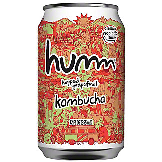 Humm Kombucha Can Hopped Grapefruit, 12 fl oz