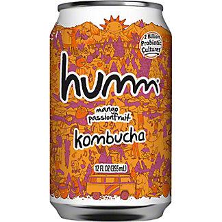 Humm Kombucha Can Mango Passionfruit, 12 fl oz