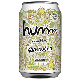 Humm Kombucha Coconut Lime, 12 fl oz