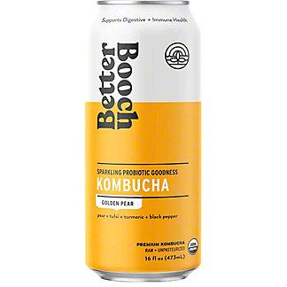 Better Booch Kombucha Golden Pear, 16 fl oz
