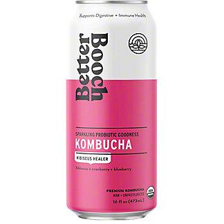 Better Booch Kombucha Hibiscus Healer, 16 fl oz