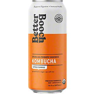 Better Booch Kombucha Citrus Sunrise, 16 fl oz