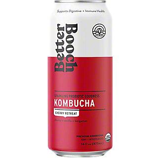 Better Booch Kombucha Cherry Vanilla, 16 fl oz