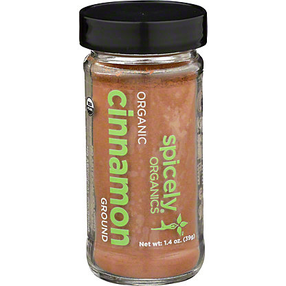 Spicely Organics Ground Cinnamon, 1.4 oz