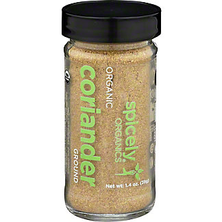 Spicely Organic Coriander Ground, 1.4 oz