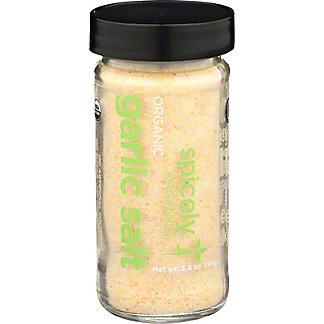 Spicely Organic Garlic Salt, 5.4 oz