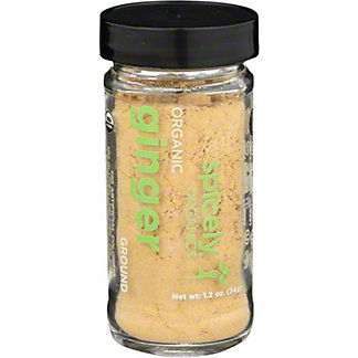 Spicely Organic Ground Ginger, 1.2 oz