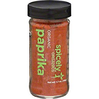 Spicely Organic Paprika, 1.7 oz