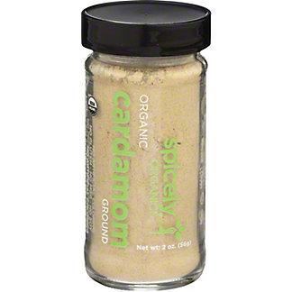 Spicely Organic Ground Cardamom, 2 oz