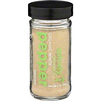 Spicely Organic Ground White Pepper, 2 oz