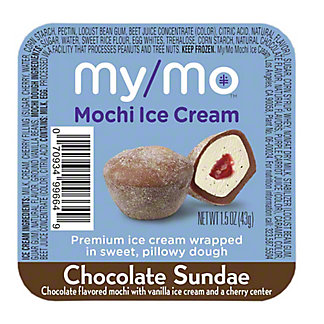 My/mo Mochi Ice Cream Sundae Chocolate, 1.5 oz