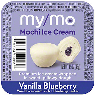 My/mo Mochi Ice Cream Blueberry, 1.5 oz