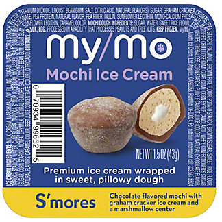 My/Mo S'mores Mochi Ice Cream , 1.5 oz