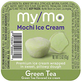 My/mo Mochi Ice Cream Green Tea, 1.5 oz