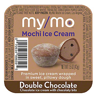 My/mo Mochi Ice Cream Double Chocolate, 1.5 oz