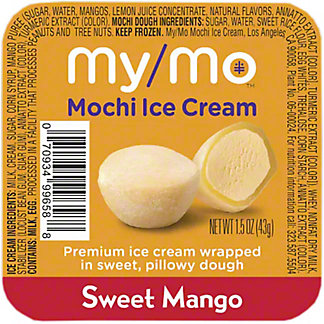 My/mo Mochi Ice Cream Mango, 1.5 oz