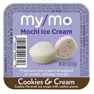 My/mo Mochi Ice Cream Cookies N Cream, 1.5 oz