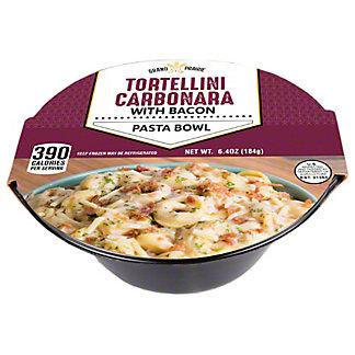Grand Prairie Tortellini Cabonara Pasta Bowl, 6.5 oz