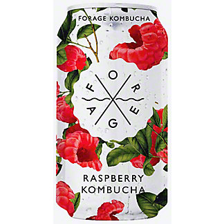 Forage Kombucha Raspberry, 12 fl oz