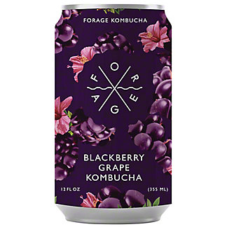 Forage Kombucha Blackberry Grape, 12 fl oz