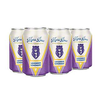 Mama Bear Lavender Lemonade Hard Kombucha 12 oz Cans, 6 pk