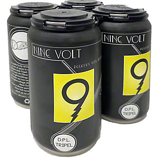 Pegasus City Brewery Nine Volt, 4 pk Cans, 12 fl oz ea