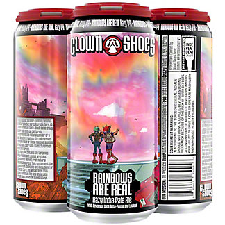 Clown Shoes Rainbows, 4 Pack Cans, 16 fl oz ea