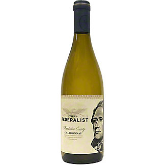 The Federalist Hamilton Chardonnay, 750 ml