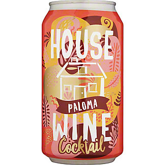 House Wine Paloma Cocktail Can, 375 mL