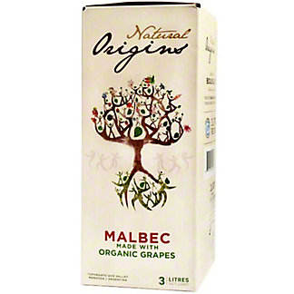 Domaine Bousquet Natural Origins Malbec, 3 L