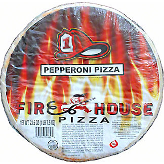 Firehouse Pepperoni Pizza, 23.5 oz