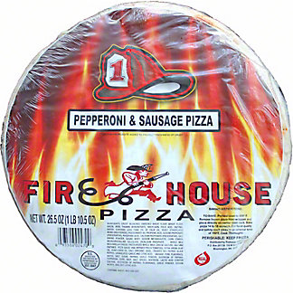 Firehouse Sausage & Pepperoni Pizza, 26.5 oz